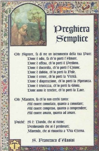 Poesie S Francesco D U0026 39 Assisi