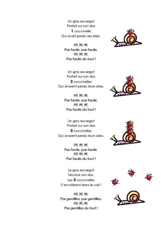 poesie savoir compter