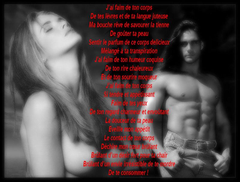 poesie sensuelle