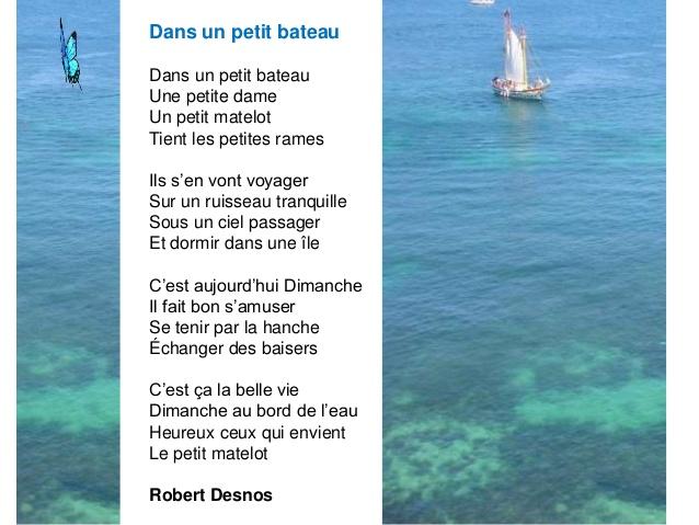 poesie sur la mer