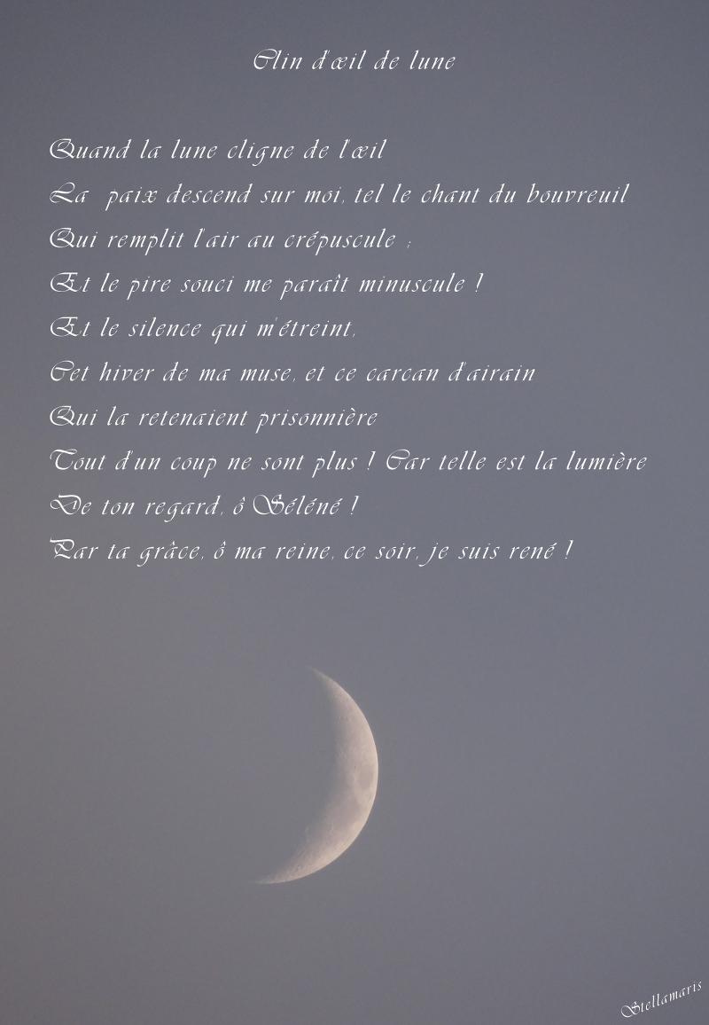 poesie terre lune