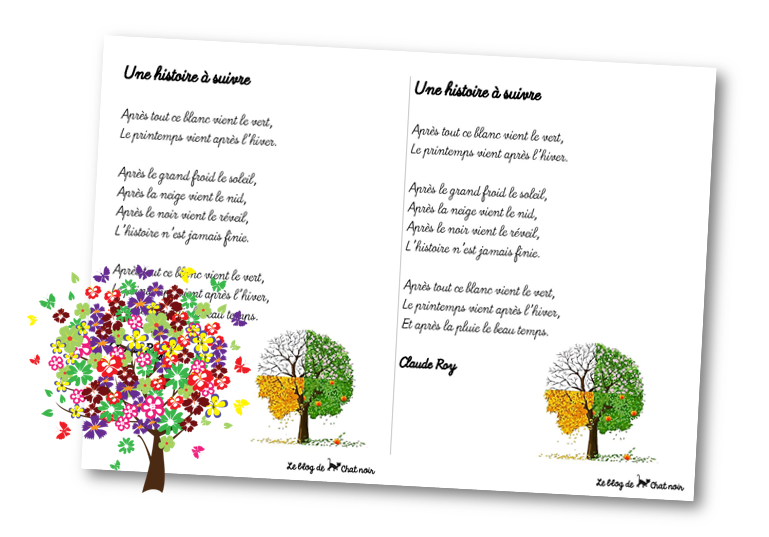 poesie theme nature