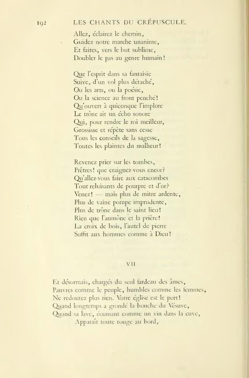 poesie v comme vesuve