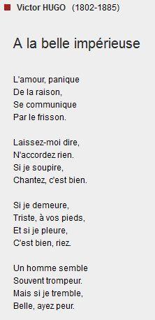 poesie webnet victor hugo