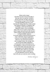 poesie william shakespeare