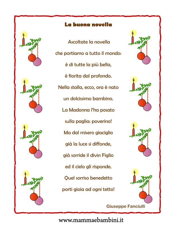 Poesie Di Natale D Autore Scuola Primaria.Poesie X Bambini