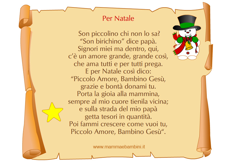 Poesie Di Natale D Autore Scuola Primaria.Poesie X Natale Bambini