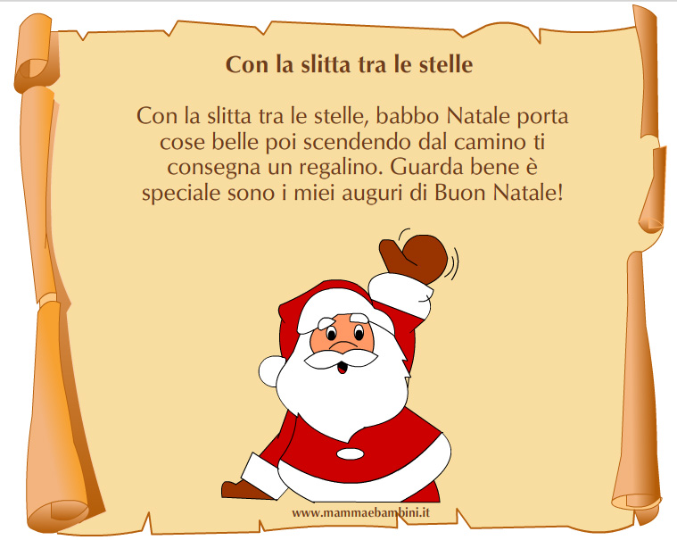 Poesie Di Natale Corte Per Bambini.Poesie Di Natale Corte Con Rime