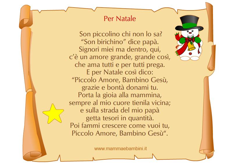 Poesie Di Natale Per Le Maestre.Poesie X Natale