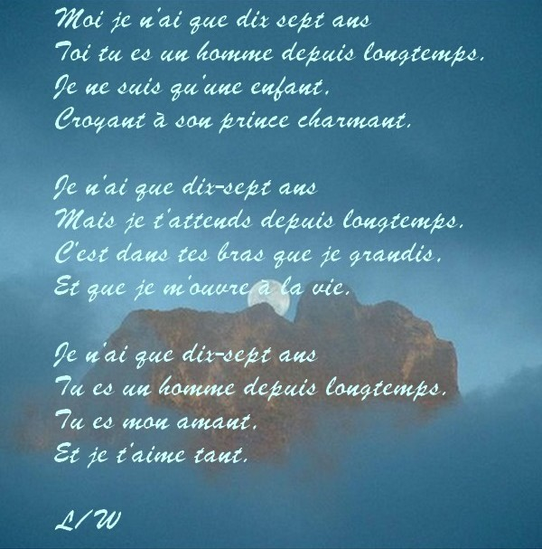 poeme 17 ans