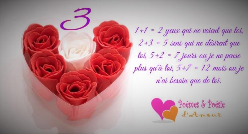 poeme 2 mois d'amour