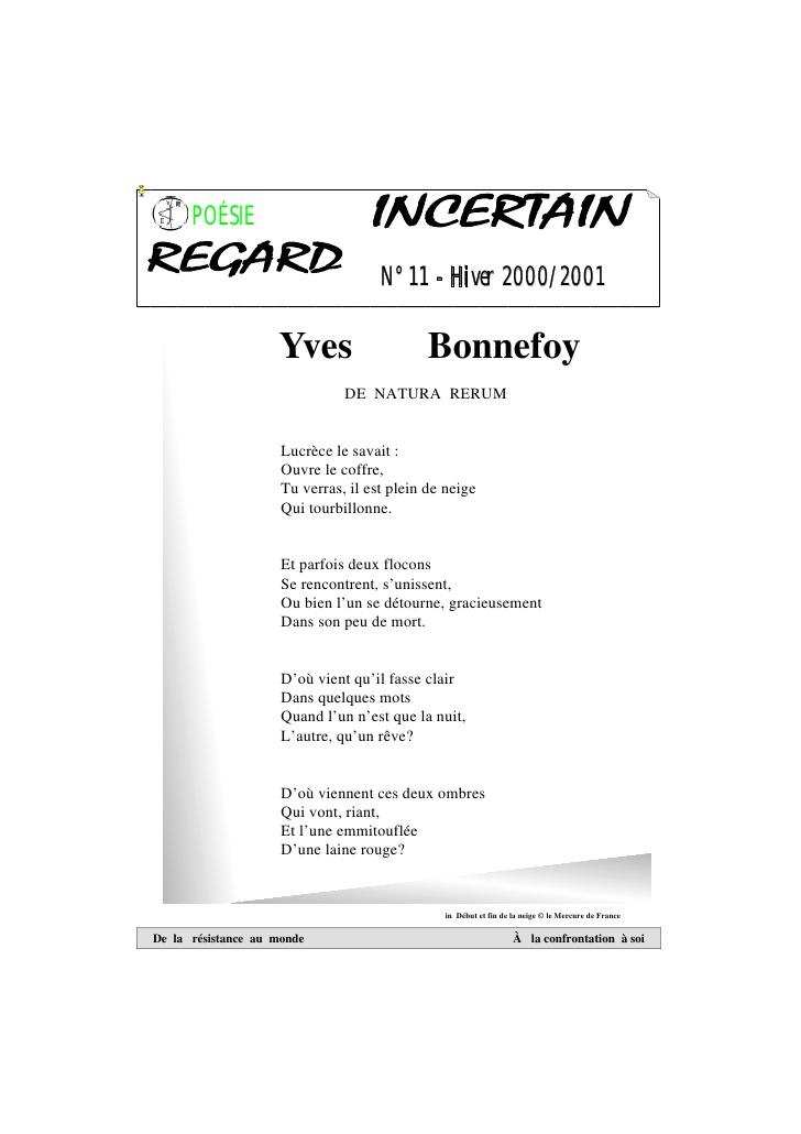 poeme 4 elements