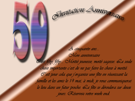 poeme 50 ans amie