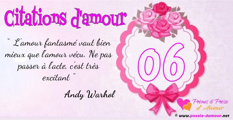 poeme 6 ans d'amour