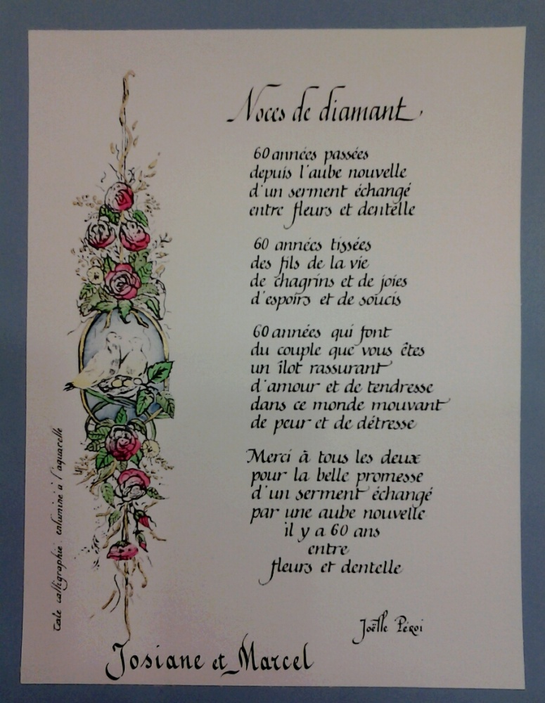 poeme 60 ans