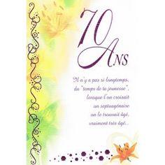 poeme 70 ans femme