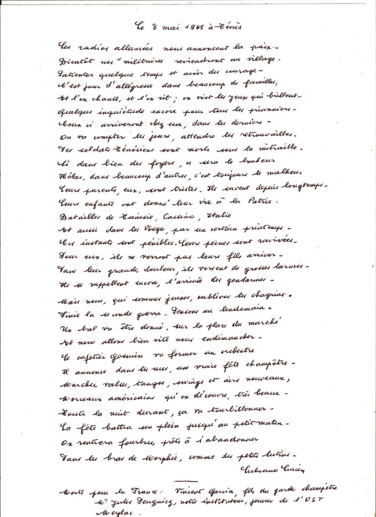 poeme 8 mai 1945