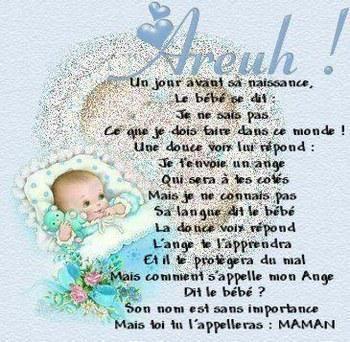 poeme 9 mois de grossesse