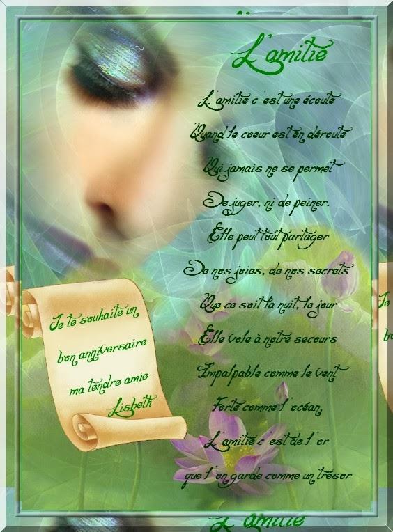 poeme a un ami decede