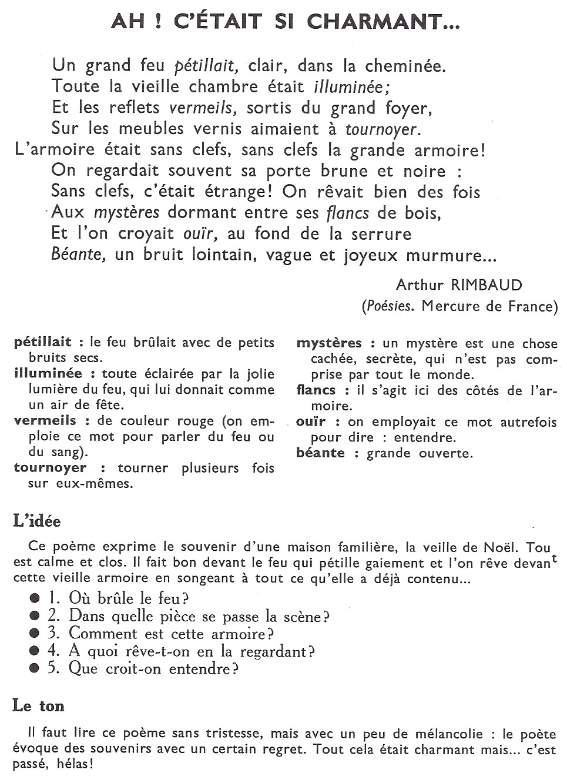 poeme arthur rimbaud