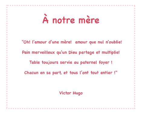 poeme connu victor hugo