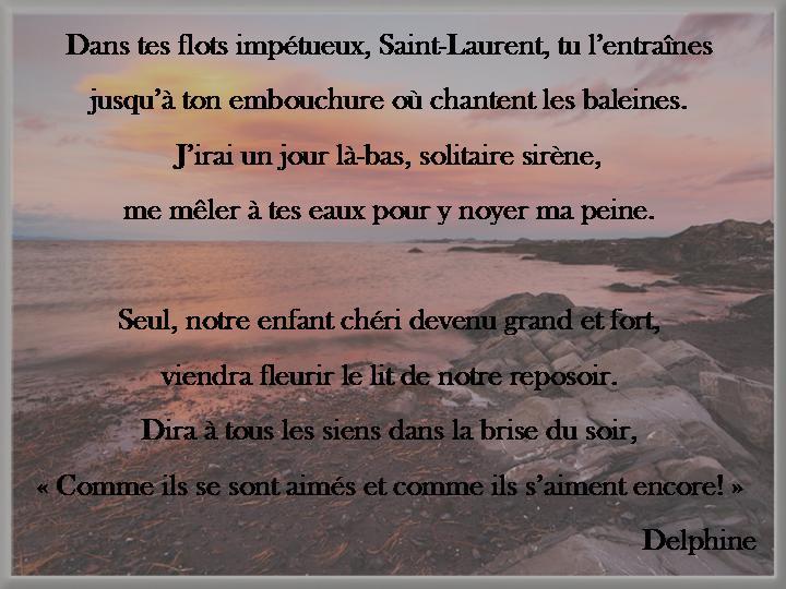 poeme d'adieu