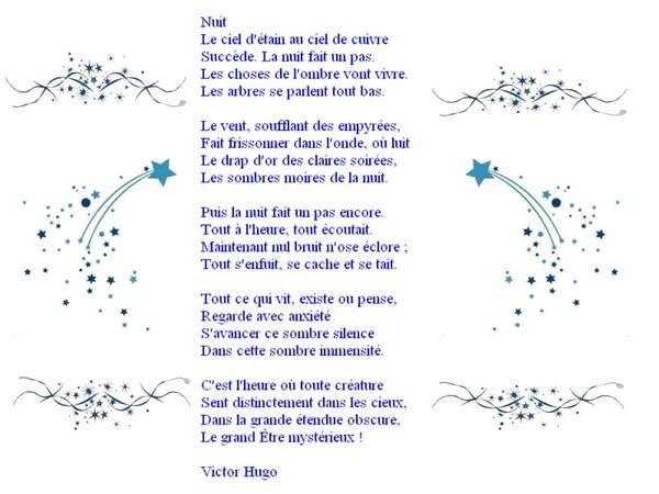 poeme de victor hugo