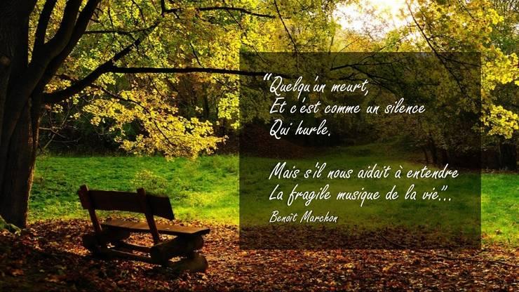poeme etre cher decede