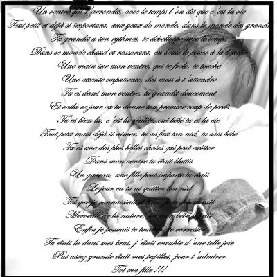 poeme grossesse