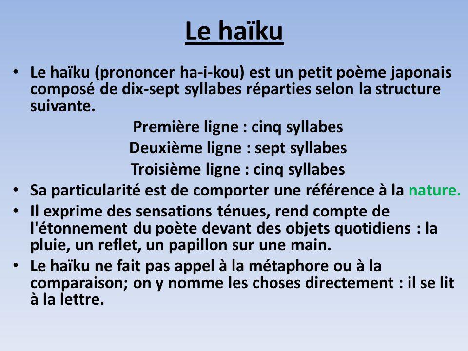 poeme haiku