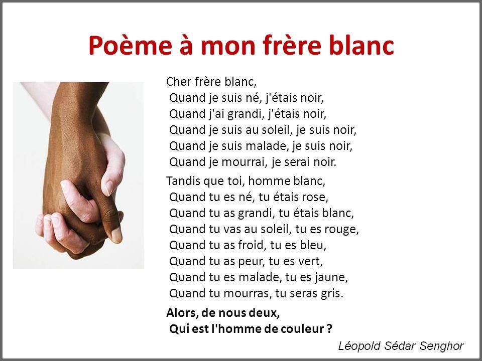 poeme homme de couleur