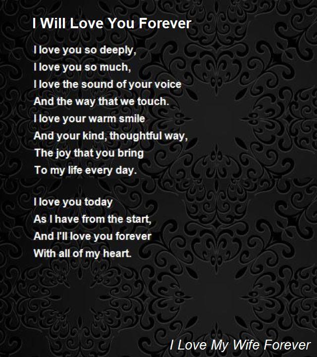 poeme i love you