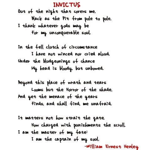 poeme invictus