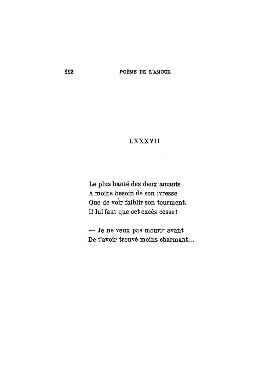 poeme ivresse