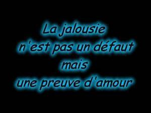 poeme jalousie