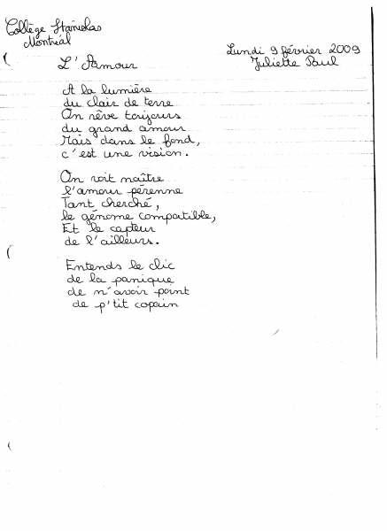 poeme juliette