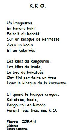poeme k