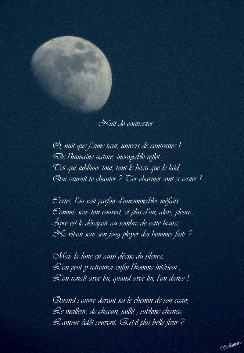 poeme la nuit