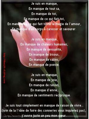 poeme manque