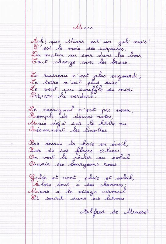 poeme mars
