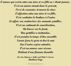 poeme mere fille