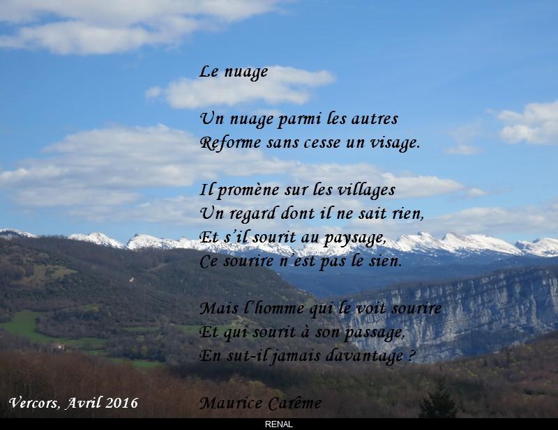 poeme nuage