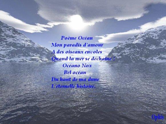 poeme ocean
