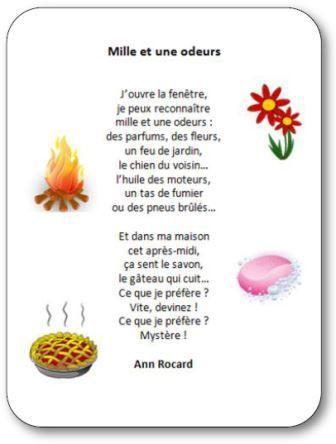 poeme odeur