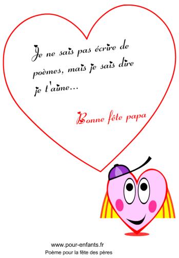 poeme p comme papa