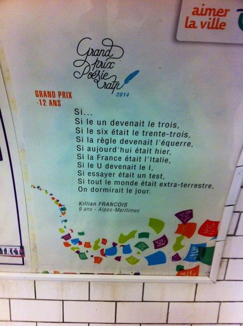 poeme ratp