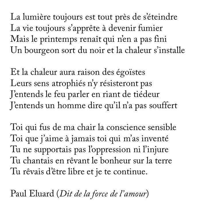 poeme resistance