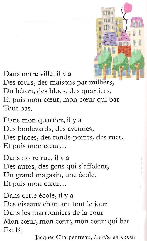 poeme sur la ville