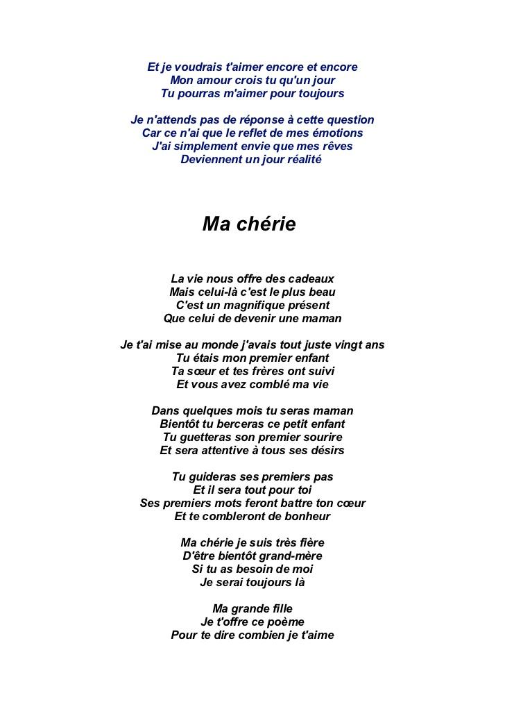poeme t'aimer pour la vie