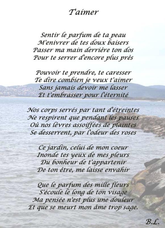 poeme t'aimer